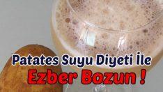 Patates Suyu Diyeti İle Ezber Bozun