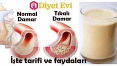 Kan şekeri ve kolesterol düşüren içecek