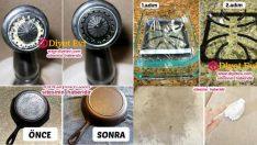 Evde doğal olarak temizlik yapmanın 10 pratik yolu