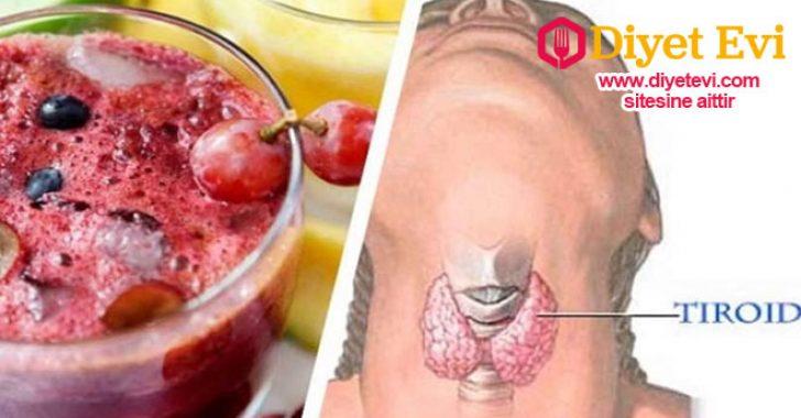 Tiroid bezlerini düzenleyen kızılcık suyu tarifi