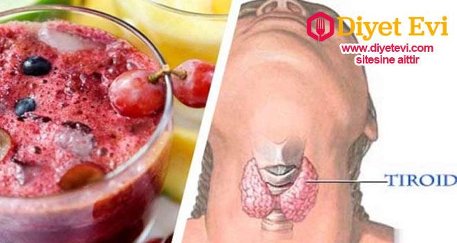 Tiroid bezlerini düzenleyen kızılcık suyu tarifi için görsele tıklayın