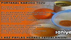 Portakal kabuğunun faydaları nelerdir