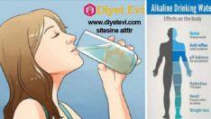 Kanseri yok eden alkali su tarifi nasıl yapılır