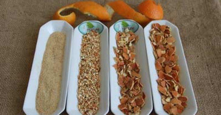 Portakal kabuğu tozunun faydaları portakal kabuğu ile kurt dökmek