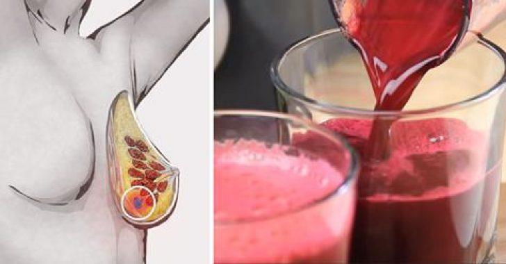 Kanseri önleyen kırmızı pancar havuç elma suyu