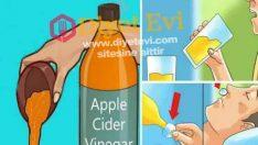 Yatarken elma sirkesi içmenin faydası