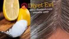 Beyaz saçlar için Hindistan cevizi yağı limon karışımı