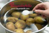 Patates diyeti ile 3 günde 5 kilo verin