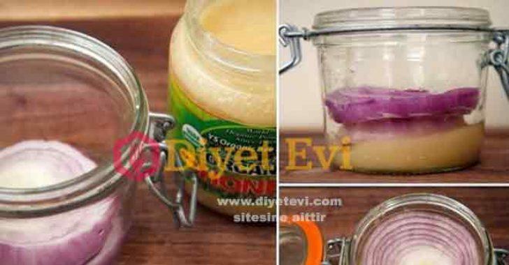 Soğan bal ile öksürük tedavisi nasıl yapılır
