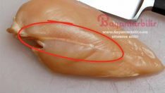 Tavuk etinin üzerinde beyaz çiziler varsa eğer dikkat!