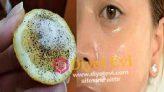 Taze ve parlak bir cilt için Limon ve tuz maskesi
