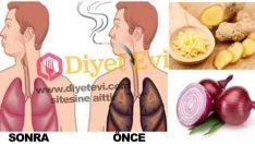 Sigara içenler ve yeni bırakanlar için akciğer temizleme kürü