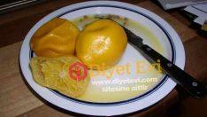 Haşlanmış limon diyeti nasıl yapılır