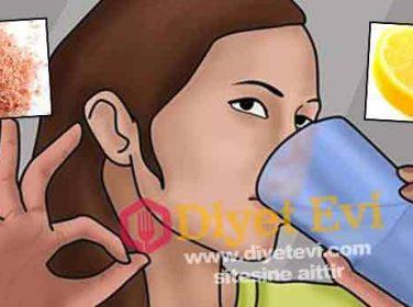 Himalaya tuzu limonlu su ile kanser tedavisi nasıl yapılır