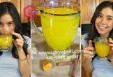 Karın yağlarını eriten mideyi rahatlatan bağırsakları temizleyen meyve suyu