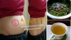 15 günde 10 kilo verdiren nane zencefil fesleğen yeşil çay