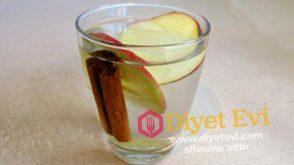 Yağ yakan zayıflatan elma tarçın ve su karışımı