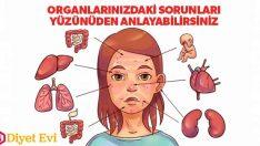 Yüzünüzdeki işaretler vücudunuzdaki hastalıkların habercisi