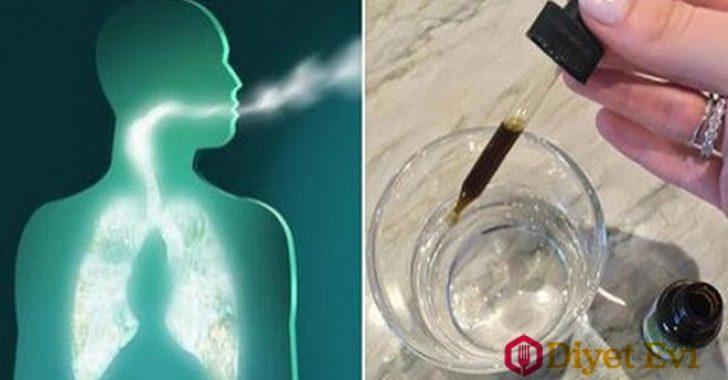 Akciğerlerinizi doğal olarak temizleyebilirsiniz